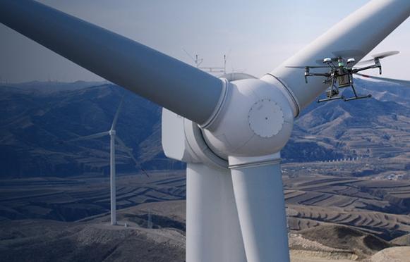 Dronesdiseñados para la inspecciónindustrial
