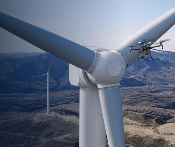 Drones para inspección industrial