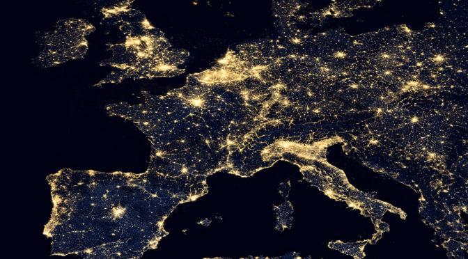Coste electricidad Europa