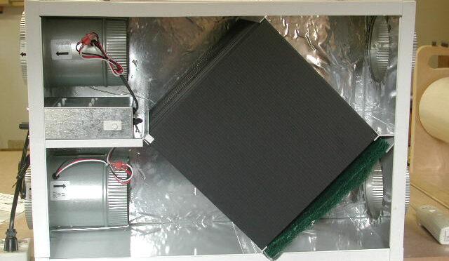 Rendimiento de un recuperador de calor